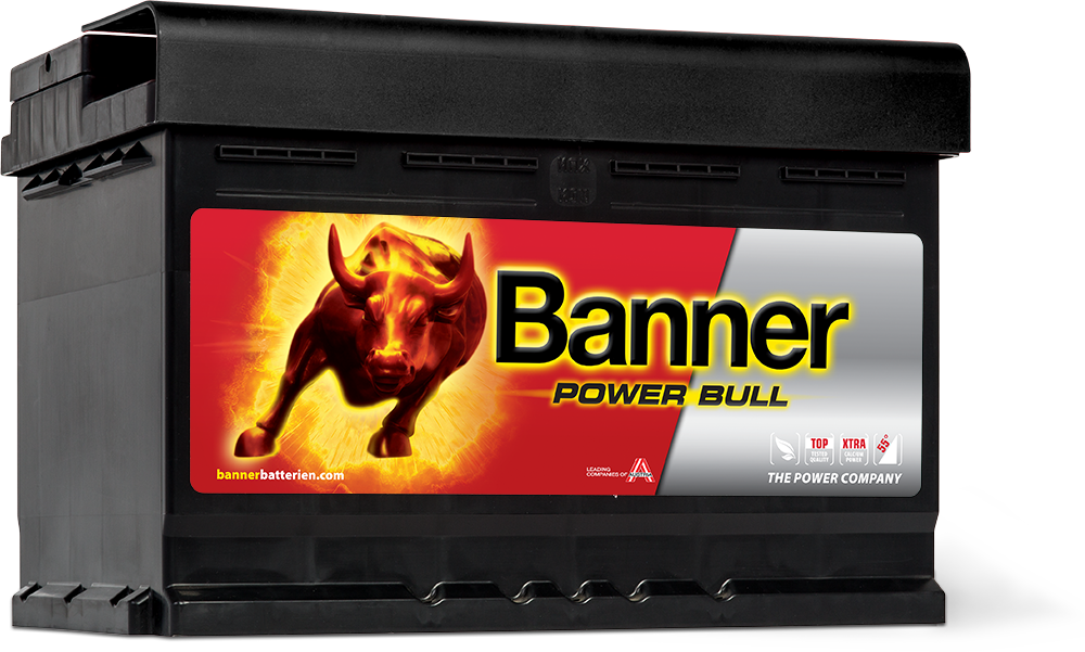 Autobaterie Banner Power Bull P72 09, 72Ah, 12V 660A