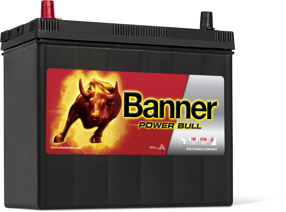 Autobaterie Banner Power Bull P45 24, 45Ah, 12V 360A