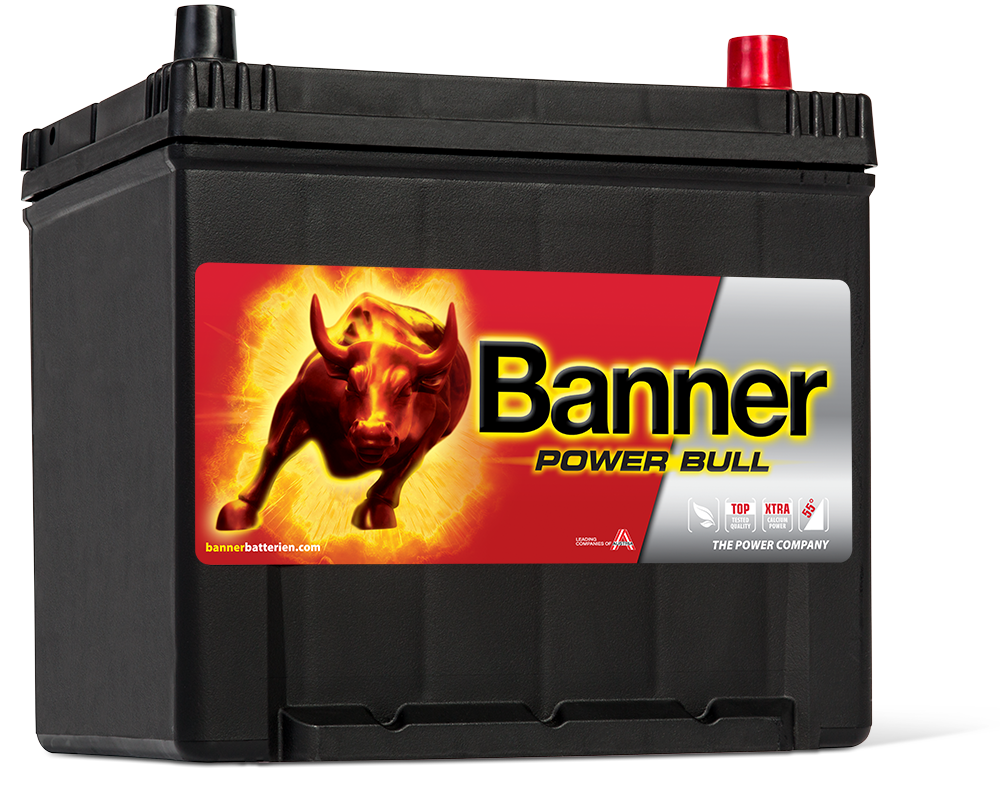 Autobaterie Banner Power Bull P60 62, 60Ah, 12V 510A