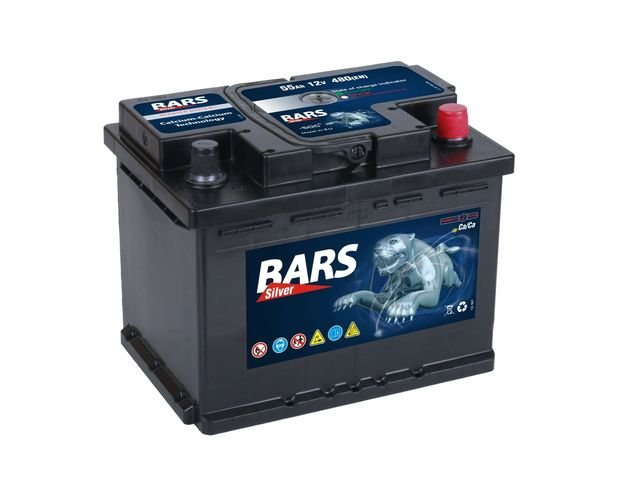 Autobaterie BARS Silver 12V 55Ah 450A