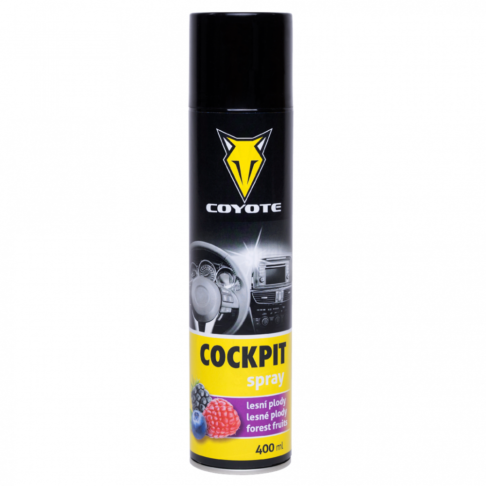 COYOTE Cockpit spray Lesní plody 400 ml