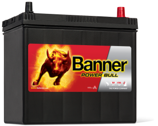 Autobaterie Banner Power Bull P45 23, 45Ah, 12V 360A