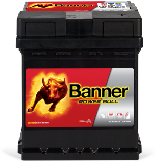 Autobaterie Banner Power bull  P42 08  42Ah, 12V 330A