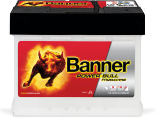 Autobaterie Banner Power Bull PROfessional P50 40, 50Ah, 12V 420A